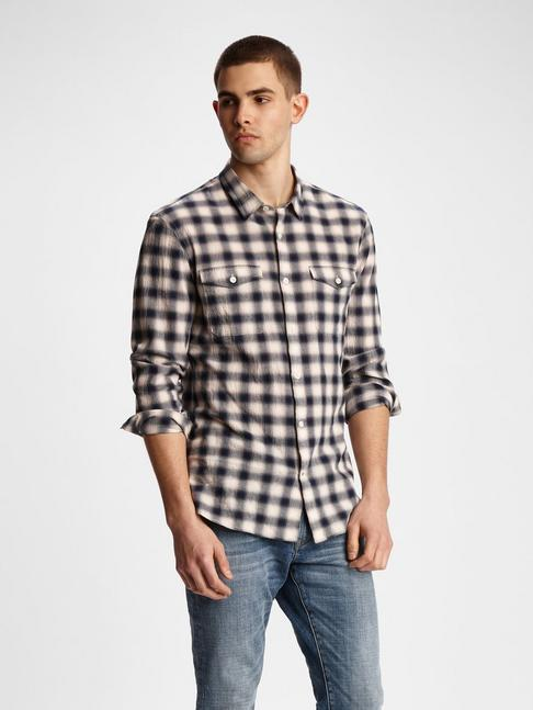 DALE WESTERN PLAID SHIRT