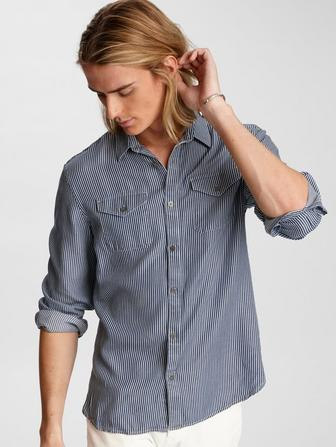 Dale Striped Western Shirt