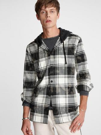 Holger Hooded Shirt