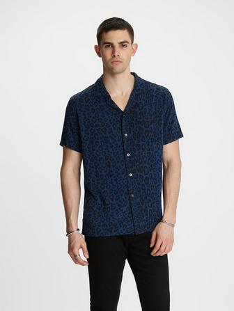 CAMERON CAMP COLLAR SHIRT