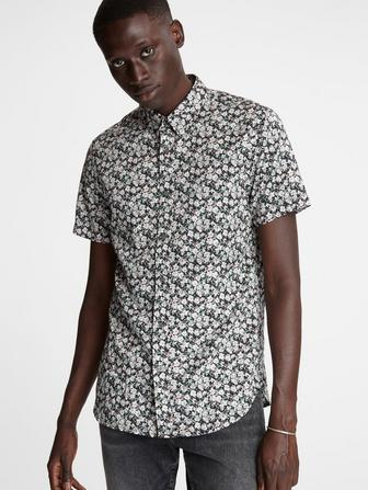 Doug Floral Short Sleeve Shirt