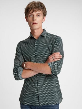 Rodney Concealed Placket Shirt