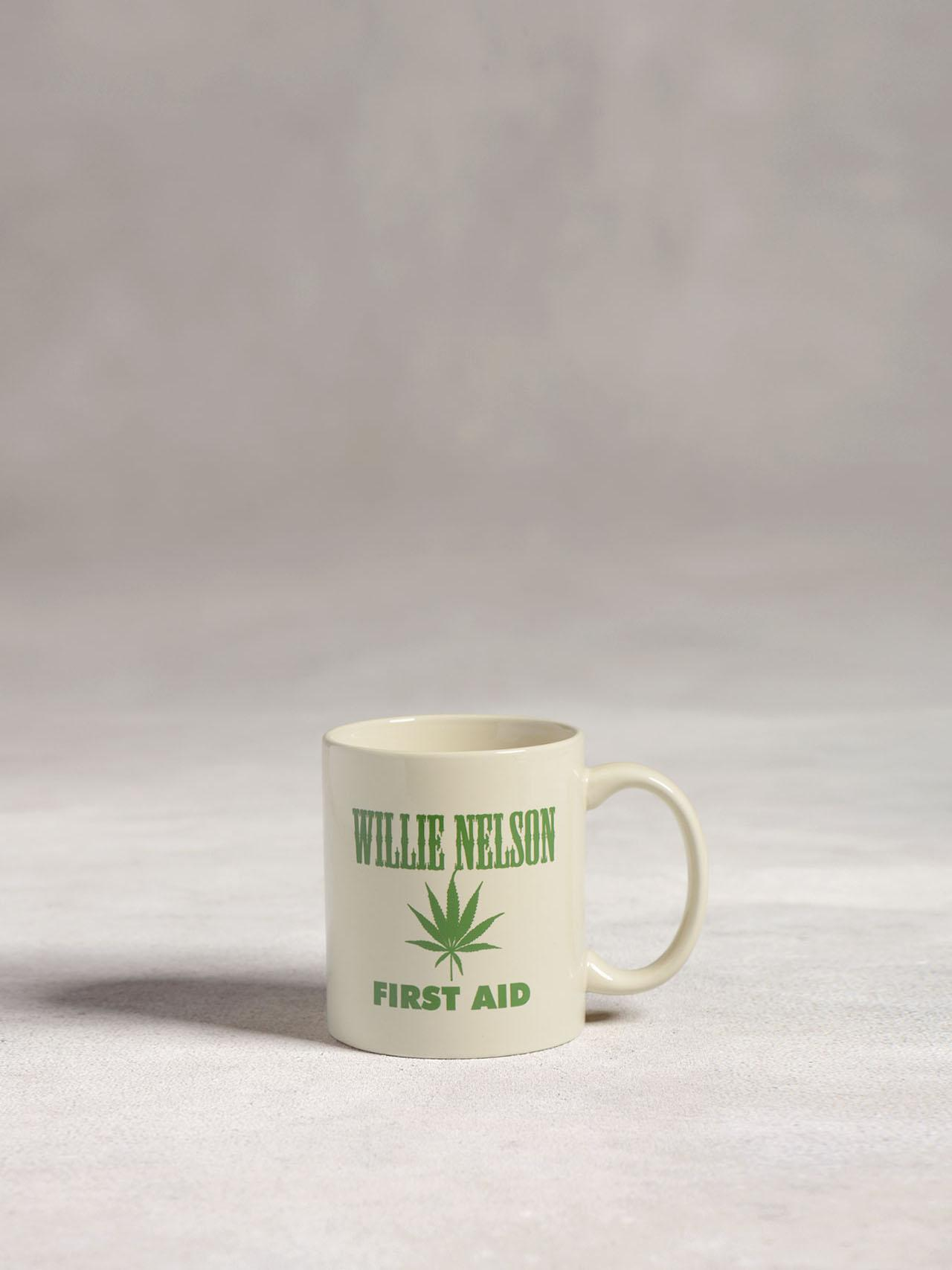 Willie Nelson First Aid Mug