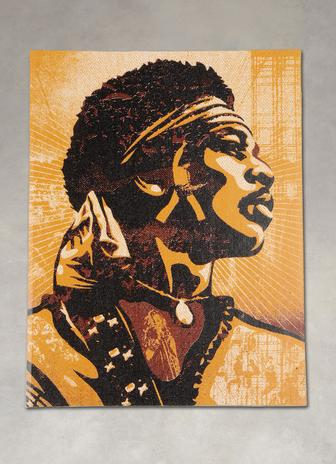 Woodstock Experience by: Shepard Fairey