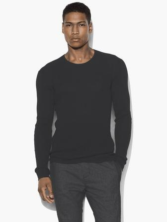 THERMAL CREWNECK SWEATER