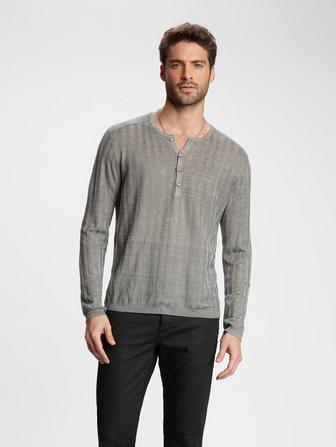 RIBBED HENLEY