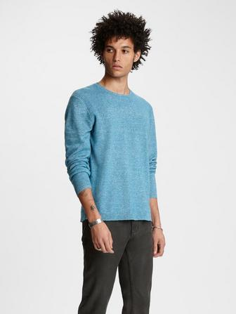 Cashmere - Linen Crewneck Sweater