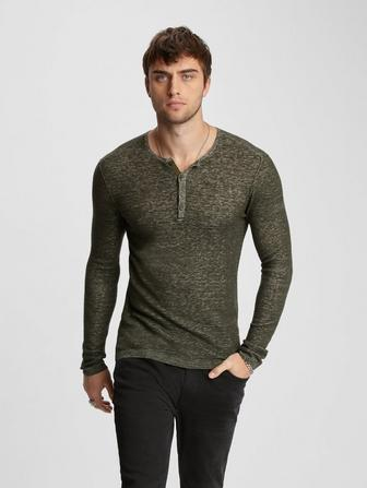 REGULAR FIT HENLEY