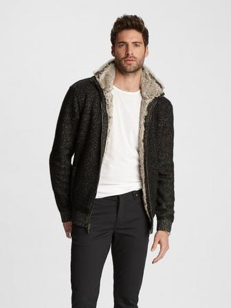 Classic Fit Sweater Jacket