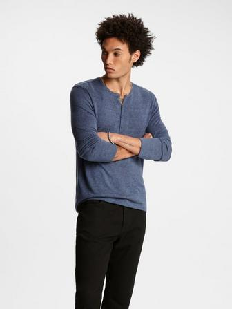 Artisan Henley Sweater