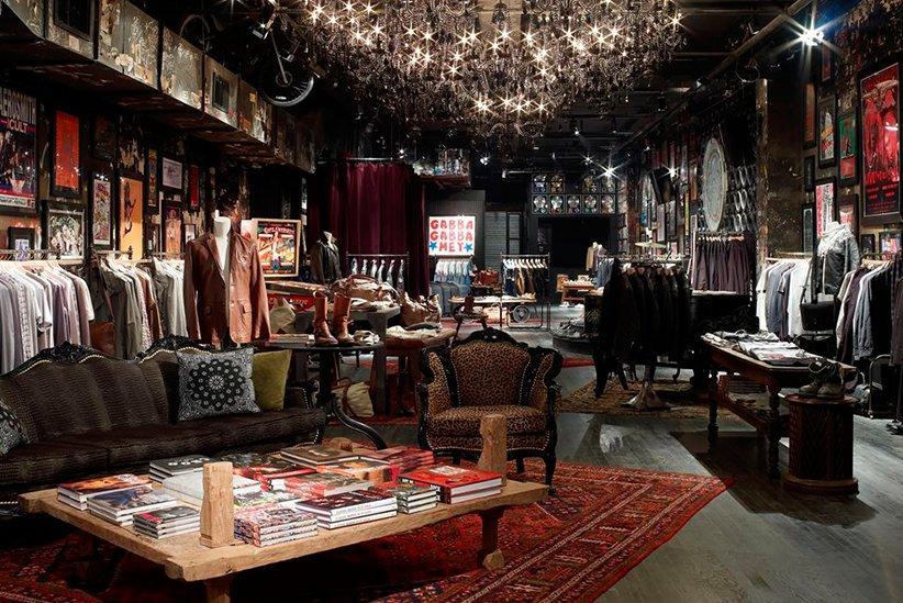 John Varvatos: una tienda de ropa en NYC muy musical, en el antiguo CBGB. Boutique_3008