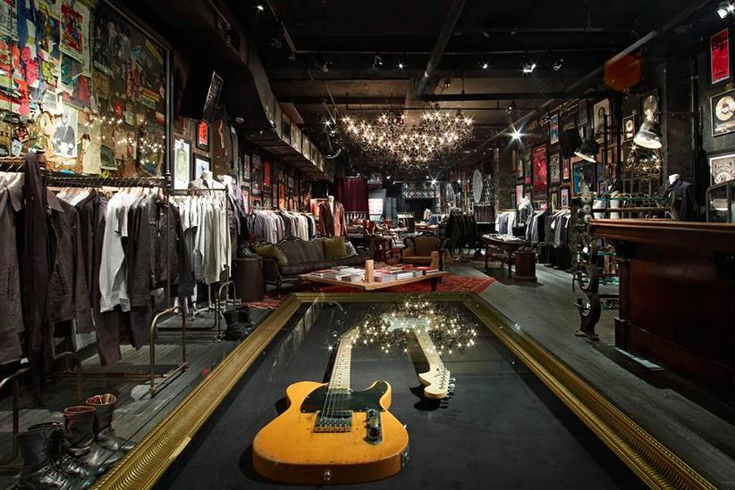 John Varvatos: una tienda de ropa en NYC muy musical, en el antiguo CBGB. Boutique_3008_2