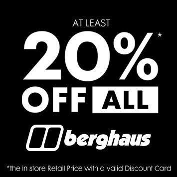 20% of Berghaus