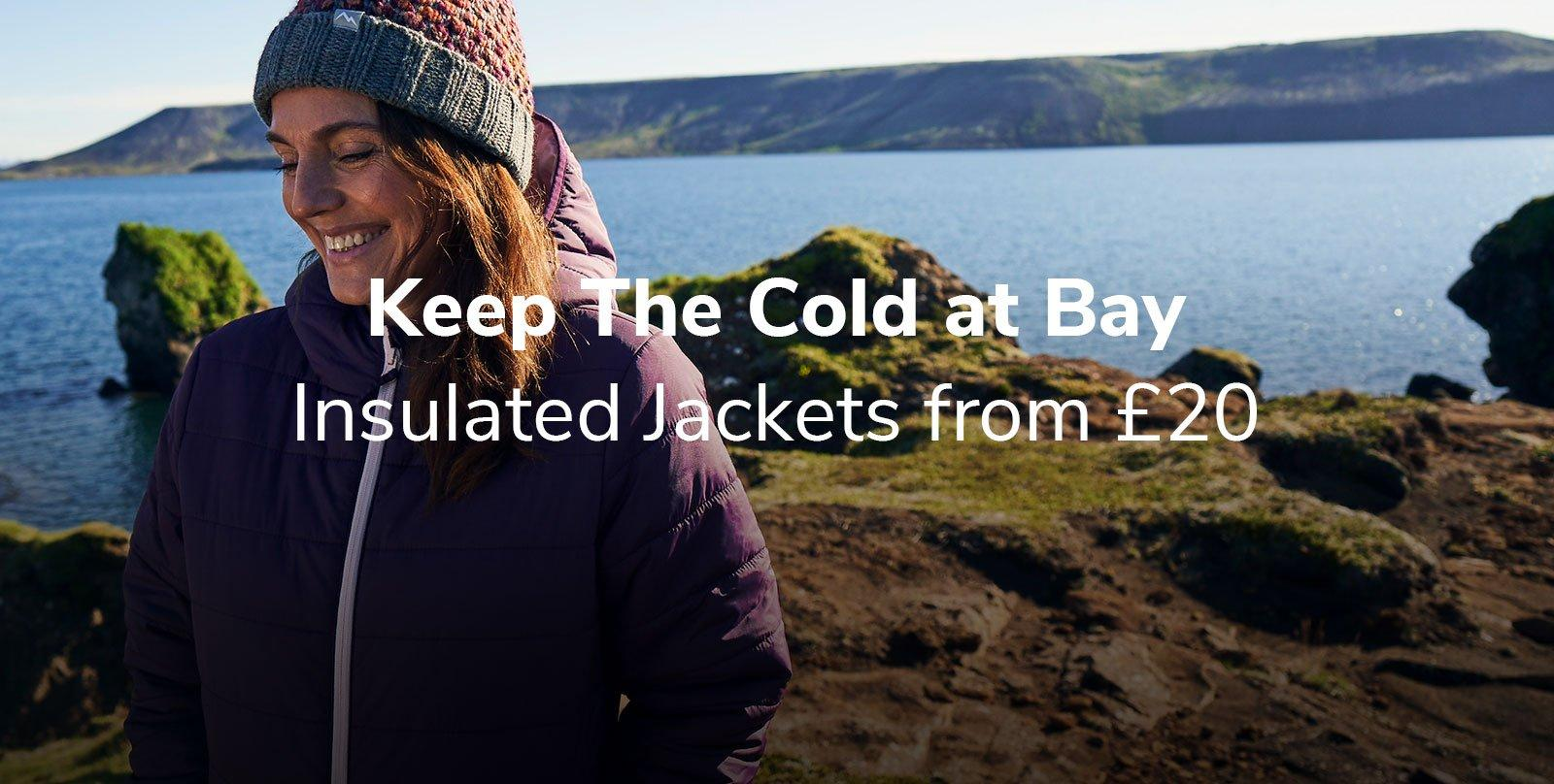 Insulated Jackets from £20