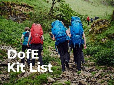 DofE Kit List and Recommended Kit