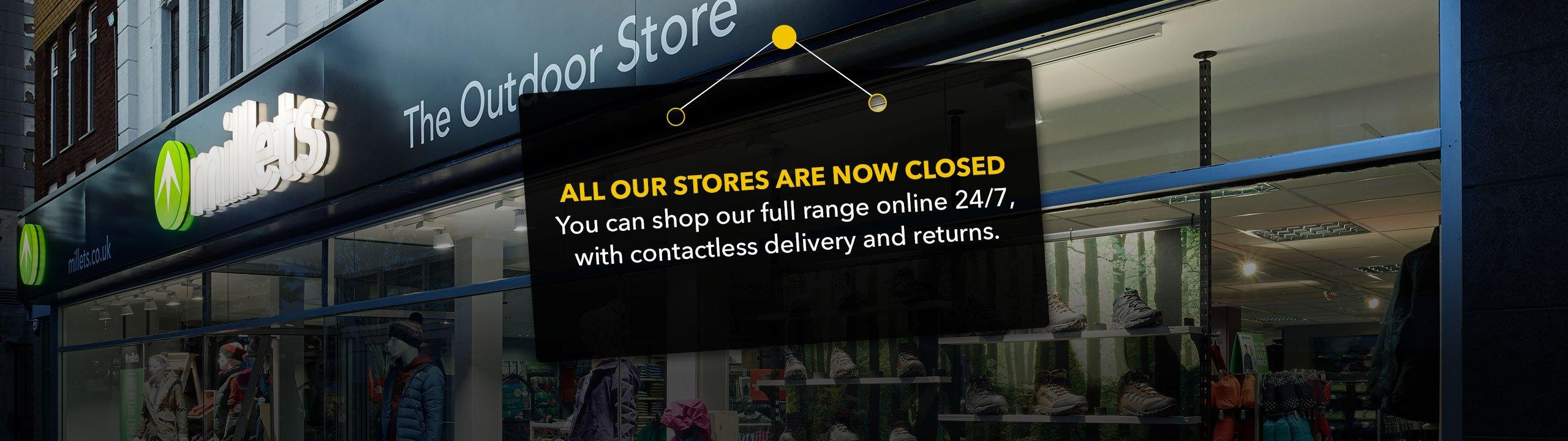 Stores Now Closed