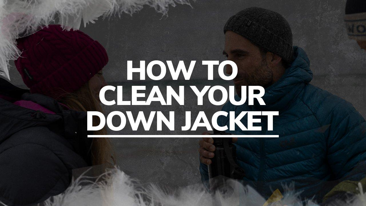 How To Clean Your Down Jacket