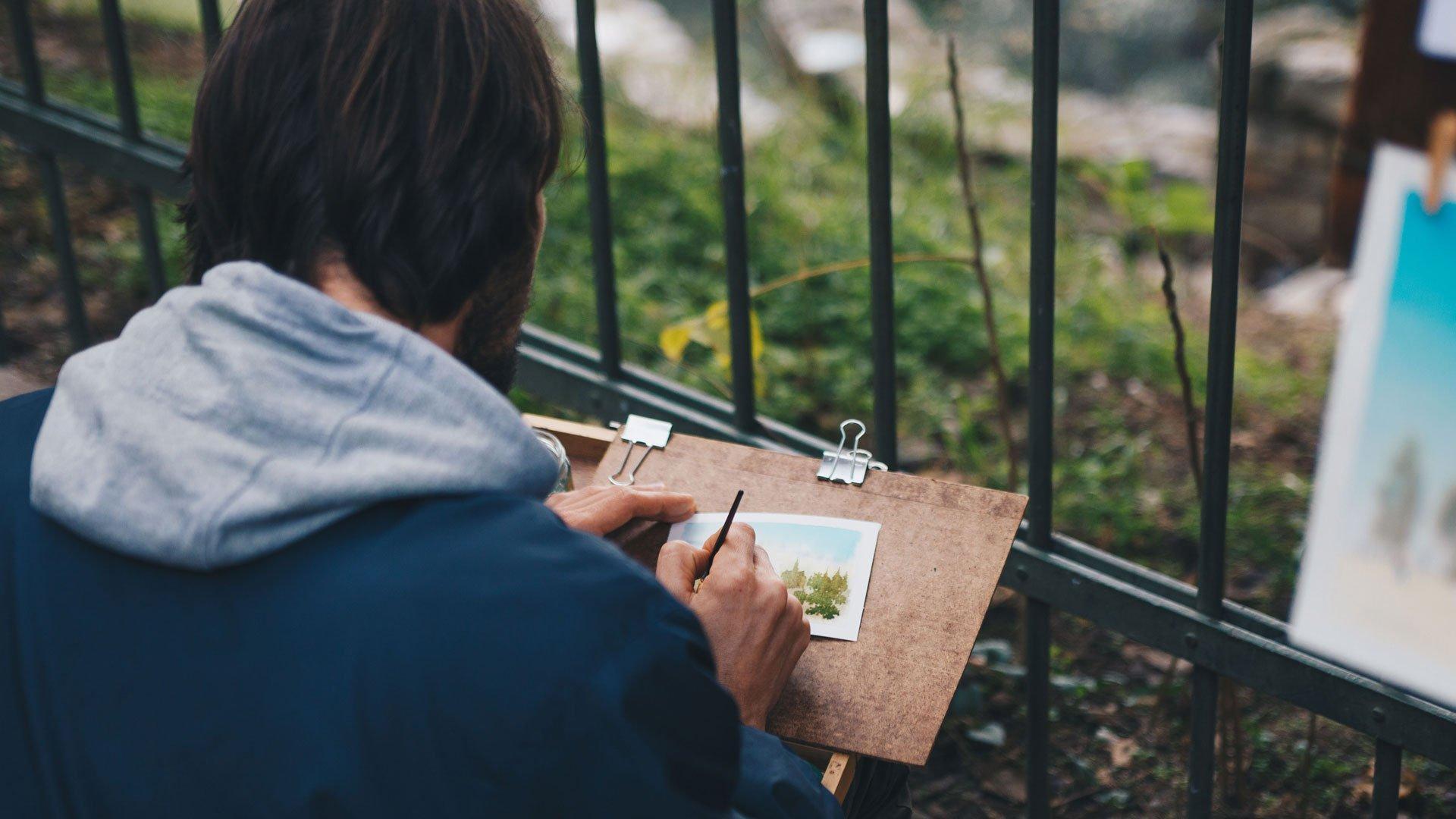 Creative outdoors