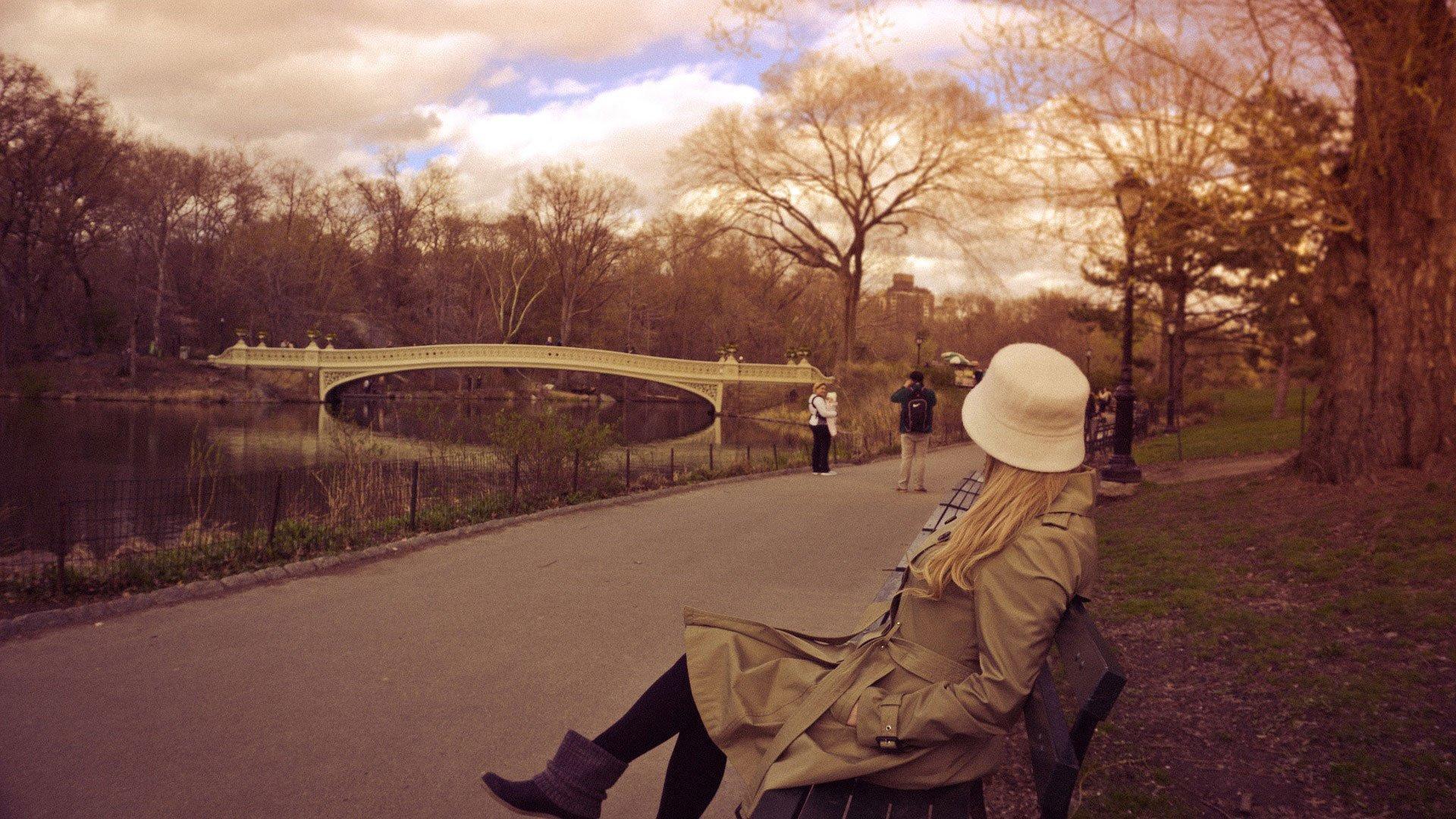Fresh air in park