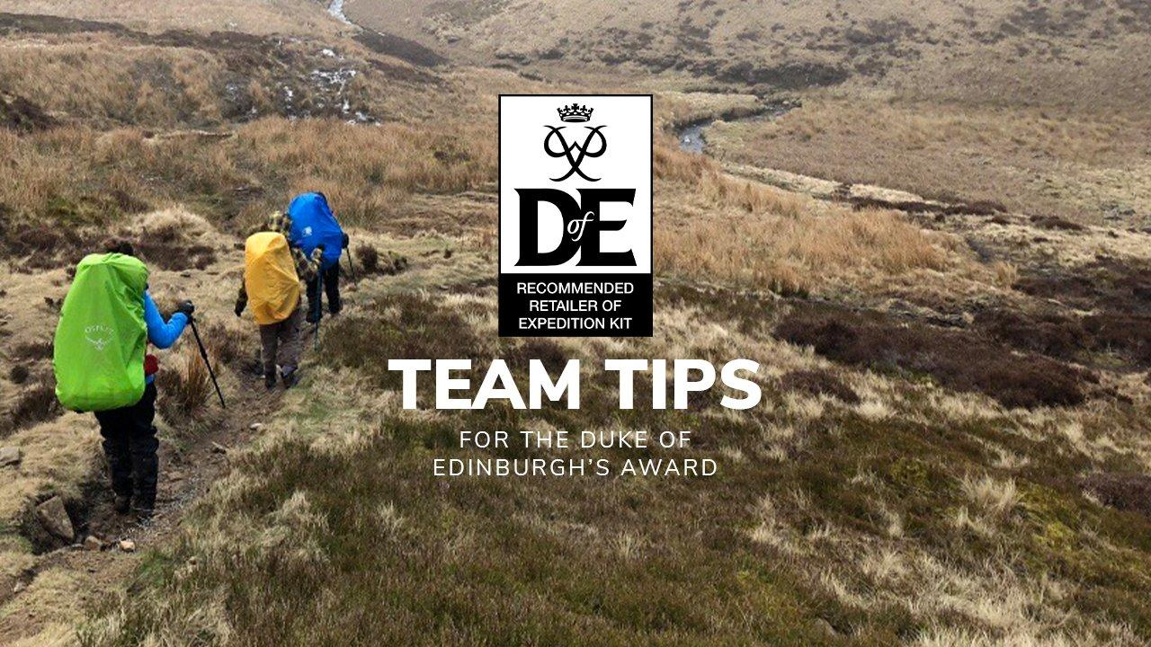 The Duke of Edinburgh's Award: Team Tips