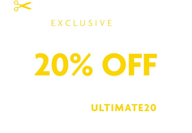 20% off all departments
