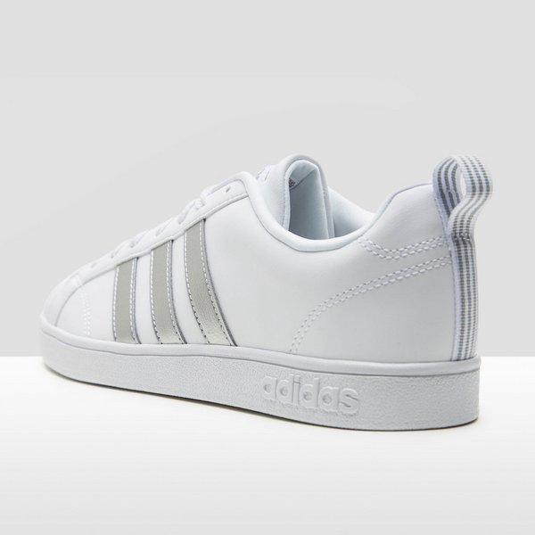 adidas sneakers wit met zilver