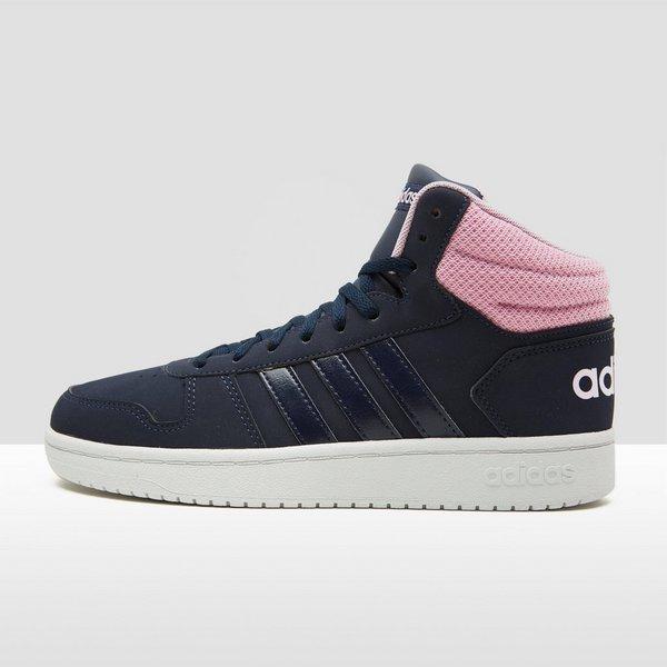 adidas schoenen dames blauw roze