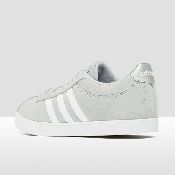 best sneakers 92390 680e8 adidas COURTSET SNEAKERS GRIJS DAMES