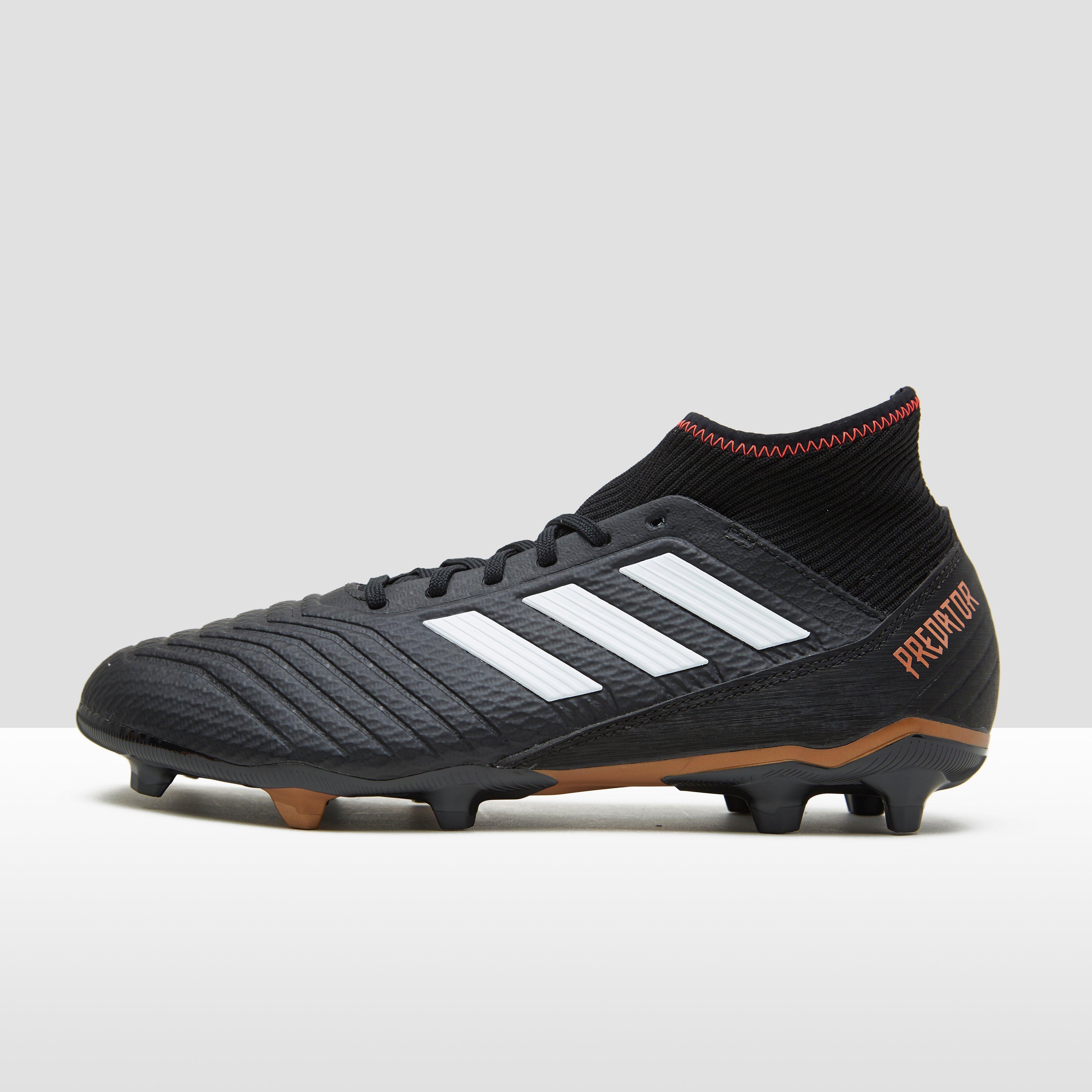 Prédateur Adidas 18,3 Fg Chaussures De Football Hommes Noirs