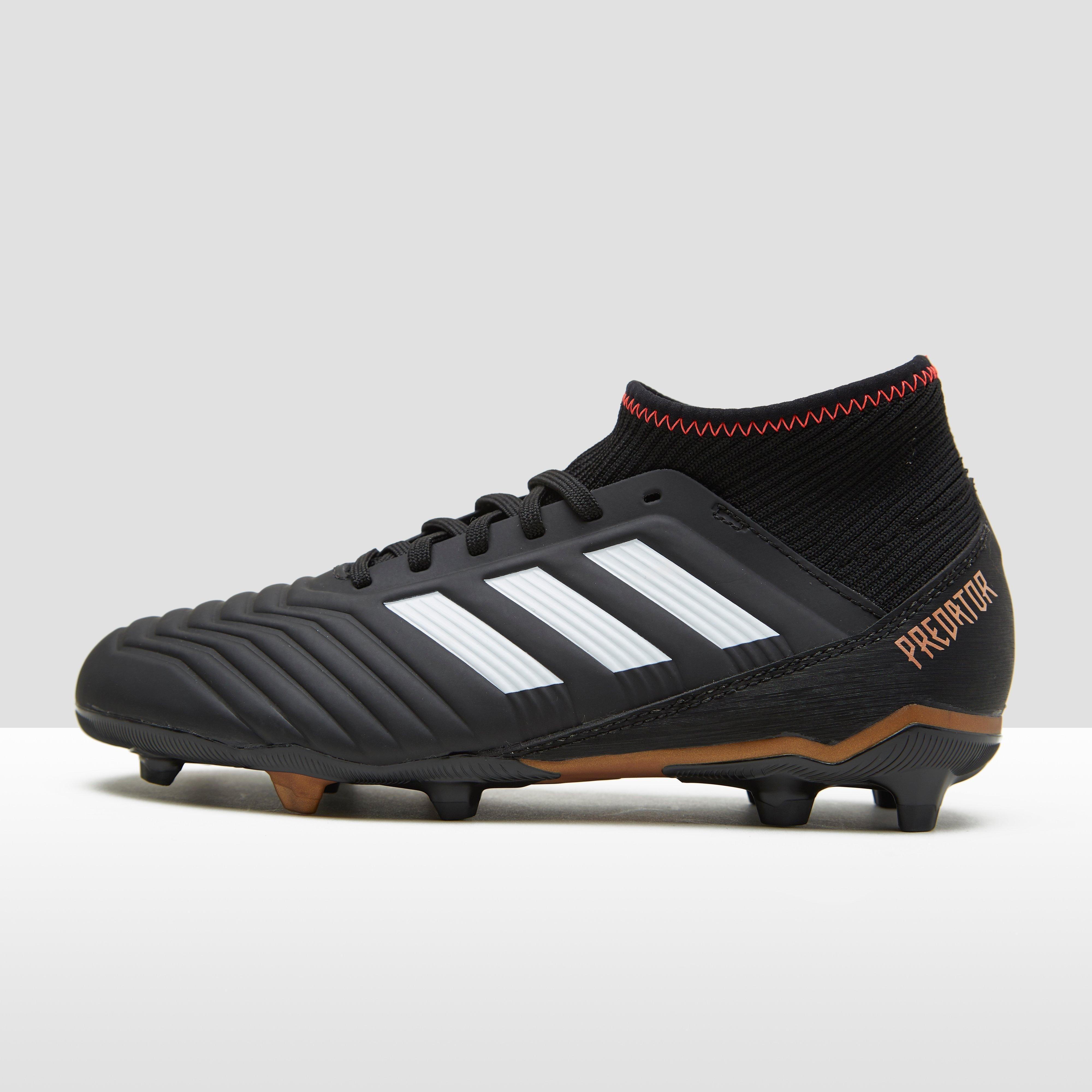 Prédateur Adidas Garçons 18,3 De Football Fg Noir / Or