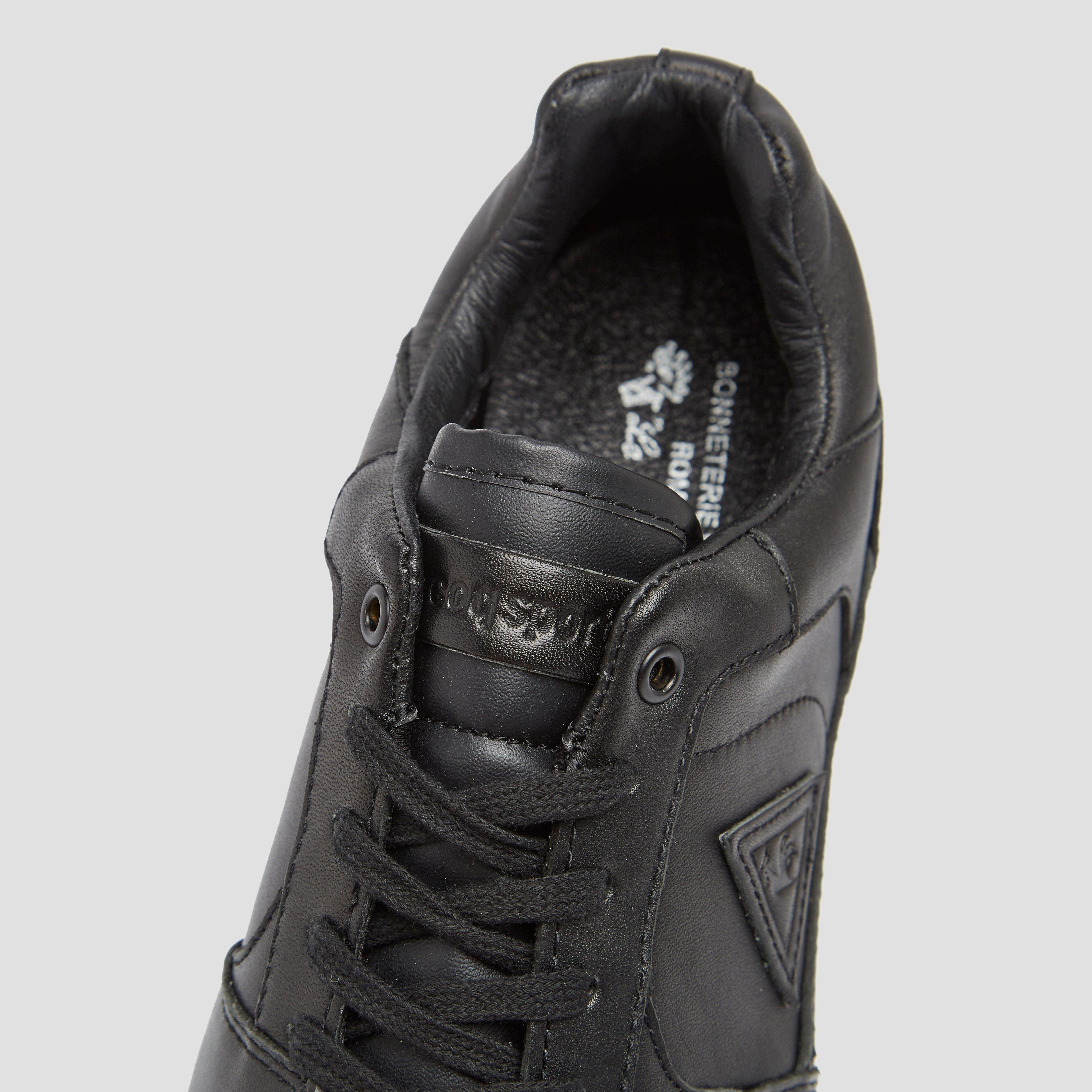 LE COQ SPORTIF GIVERNY LEATHER LOW SNEAKERS ZWART DAMES