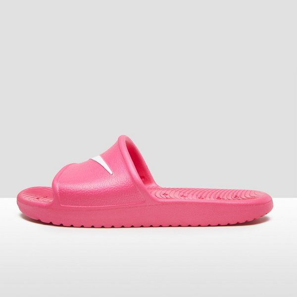the best attitude 9da31 15596 NIKE KAWA SHOWER SLIPPERS ROZE KINDEREN