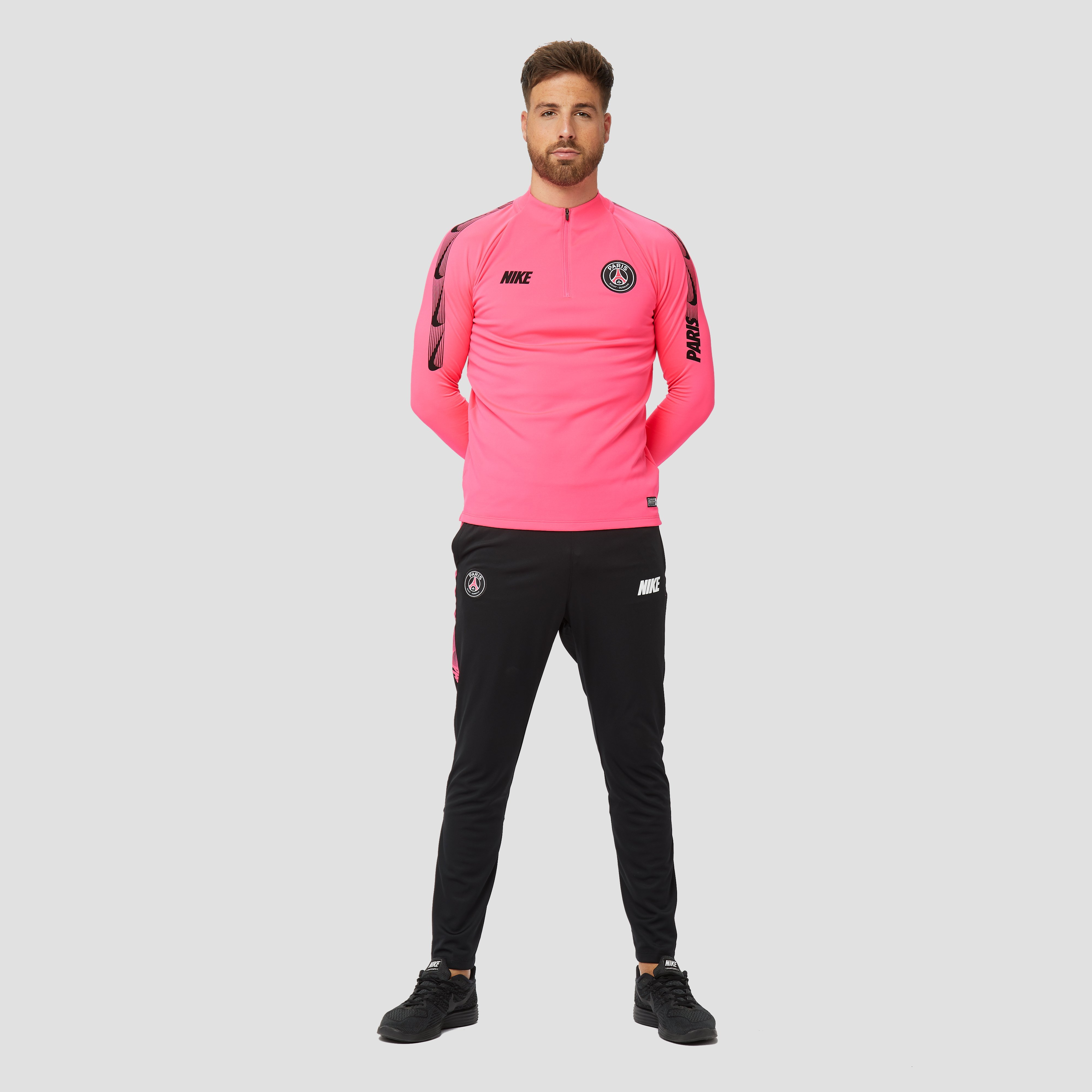 NIKE PSG DRY SQUAD DRILL TRAININGSTOP 18/19 ROZE HEREN
