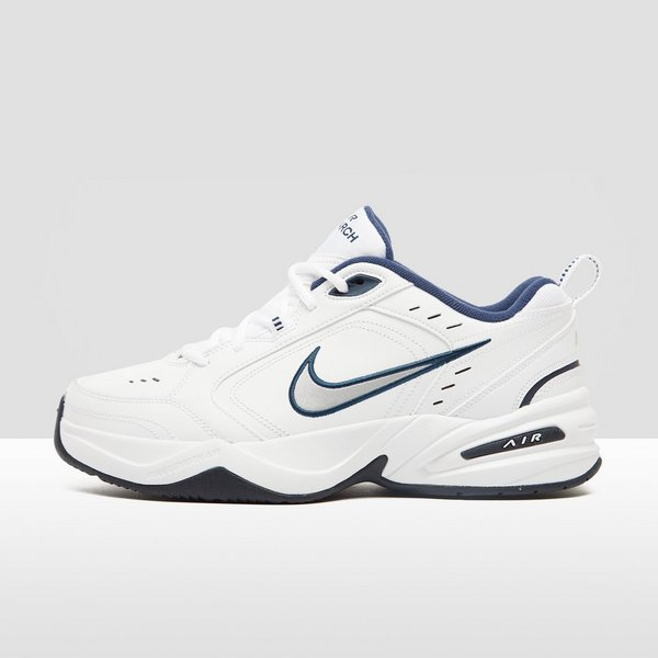 quite nice 29280 9bca9 NIKE CHUNKY AIR MONARCH IV SNEAKERS WITBLAUW HEREN
