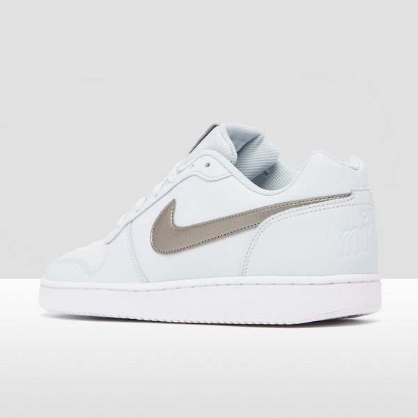 info for c0a70 48b77 NIKE EBERNON LOW SNEAKERS WITGRIJS DAMES