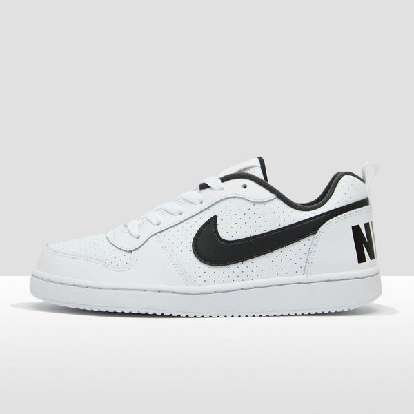 pretty nice fe4d7 008bd NIKE COURT BOROUGH LOW SNEAKERS WITZWART KINDEREN