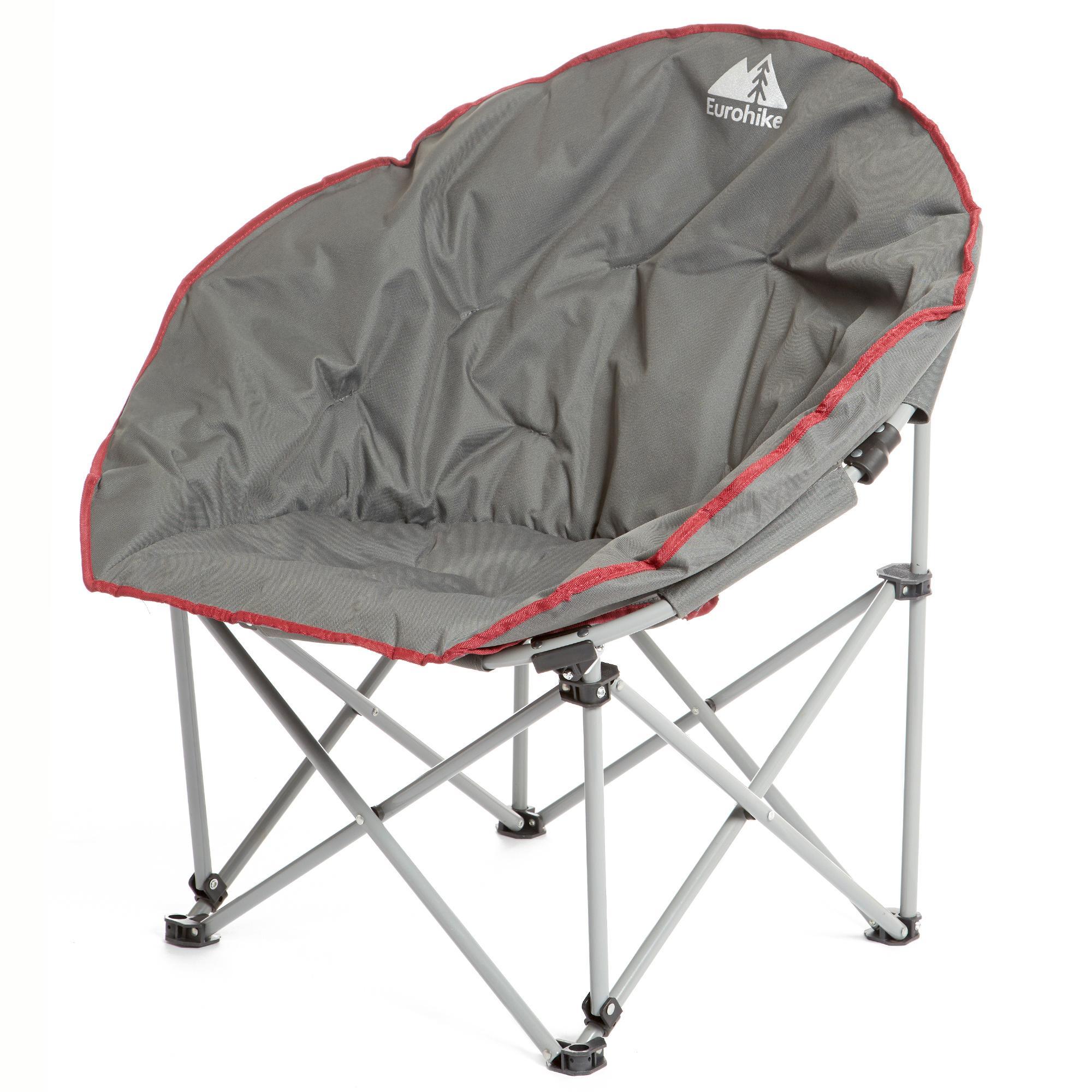 Grey EUROHIKE Deluxe Moon Chair