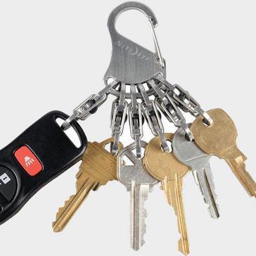 Silver Niteize KeyRack Locker
