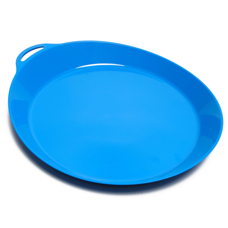Lifeventure Lifeventure Ellipse Plate - Blue, Blue