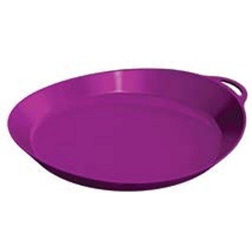 Lifeventure Lifeventure Ellipse Plate - Purple, Purple