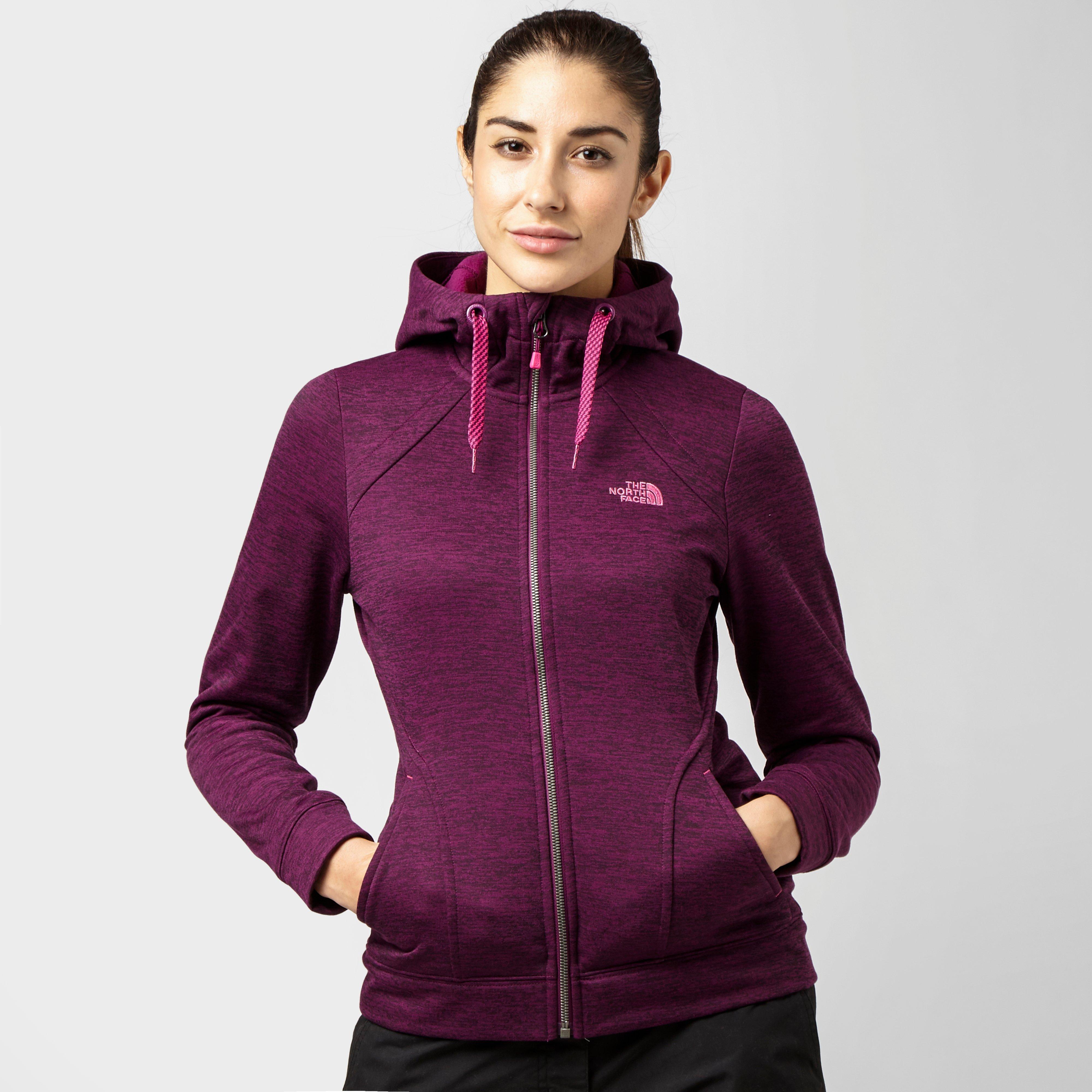 Womens purple hoodie