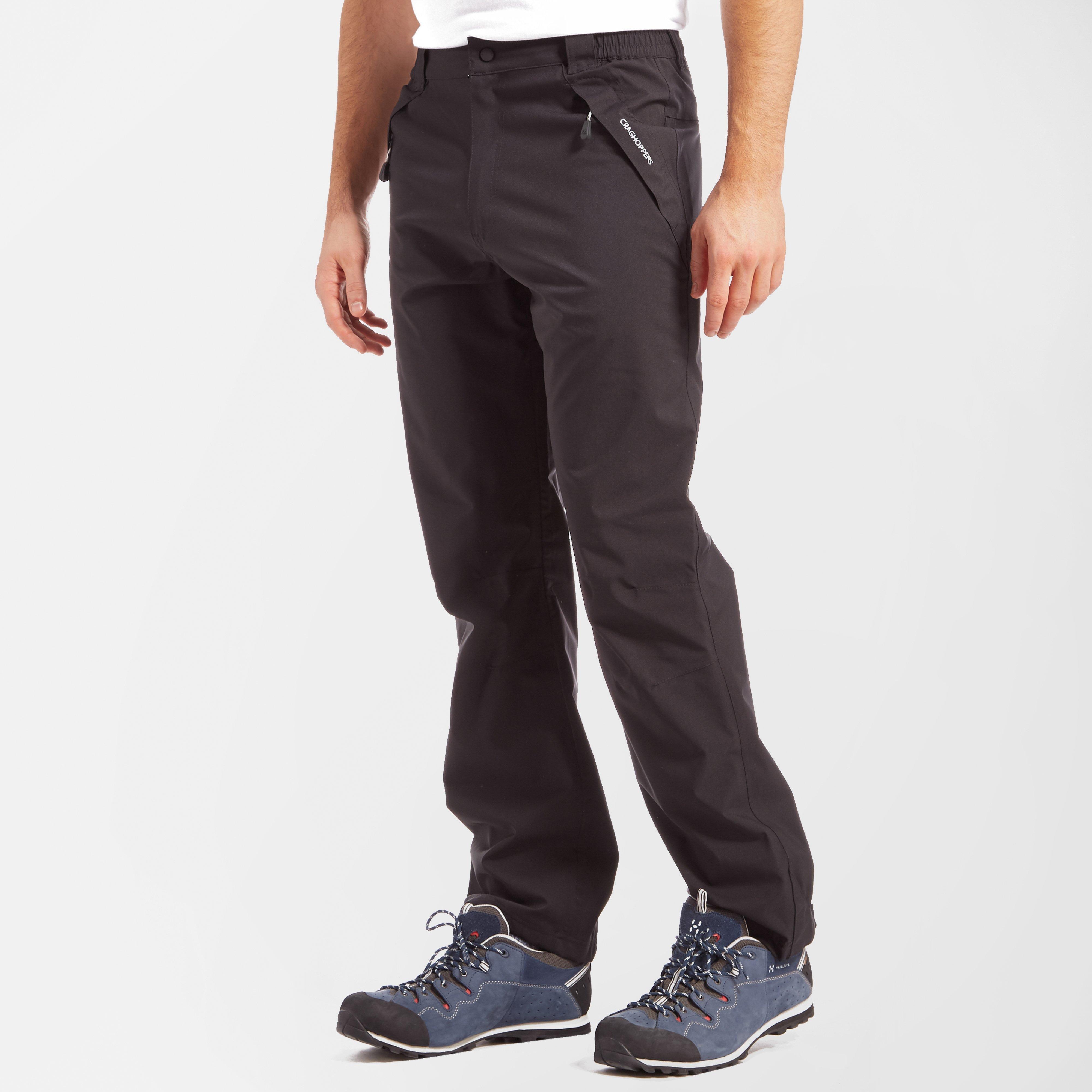 Craghoppers Craghoppers Mens Stefan Waterproof Trousers - Black, Black