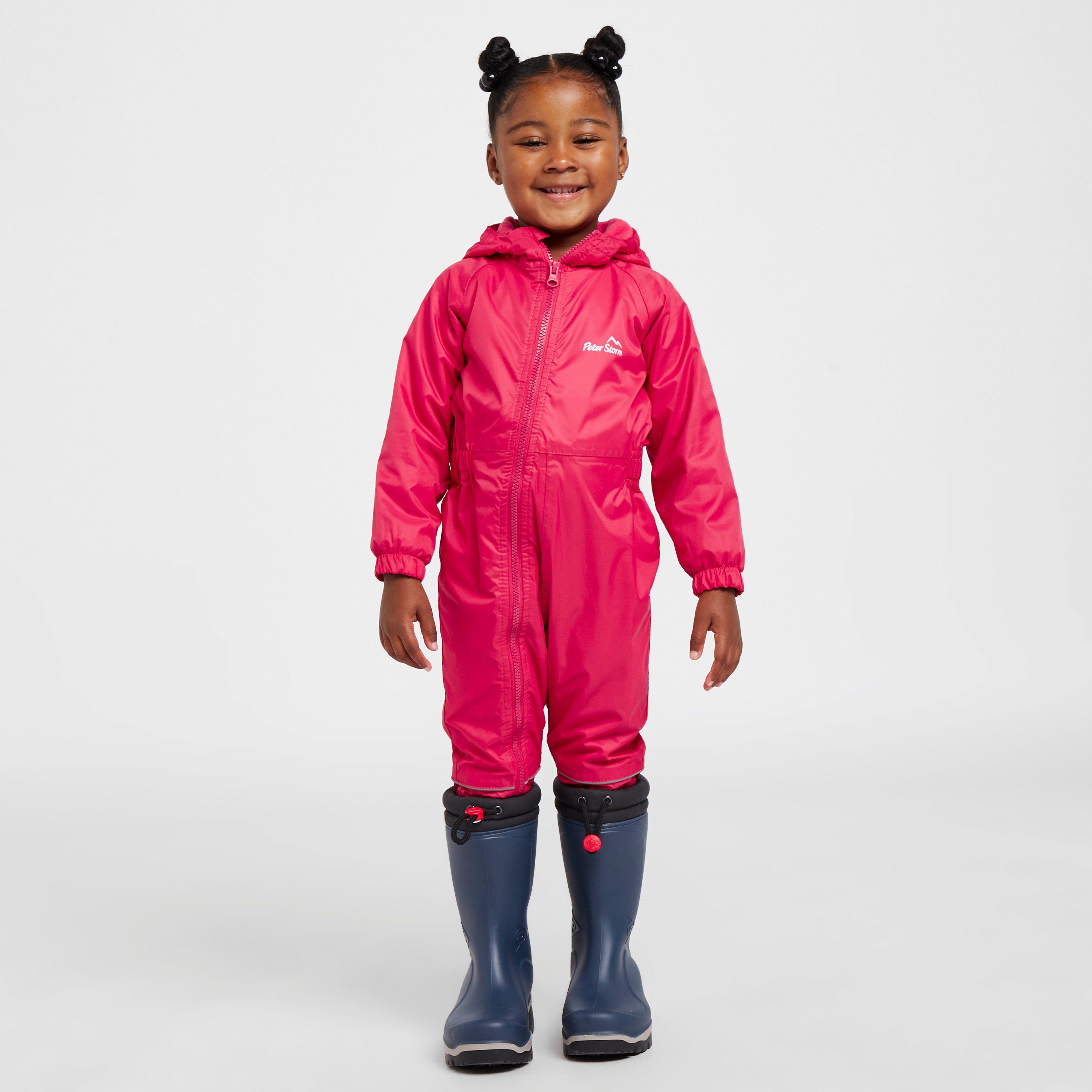 PETER STORM Infants' Fleece Lined Waterproof Suit