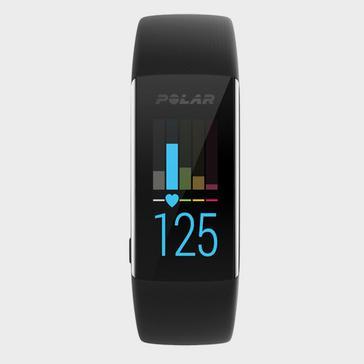 Black Polar A370 Fitness Tracker
