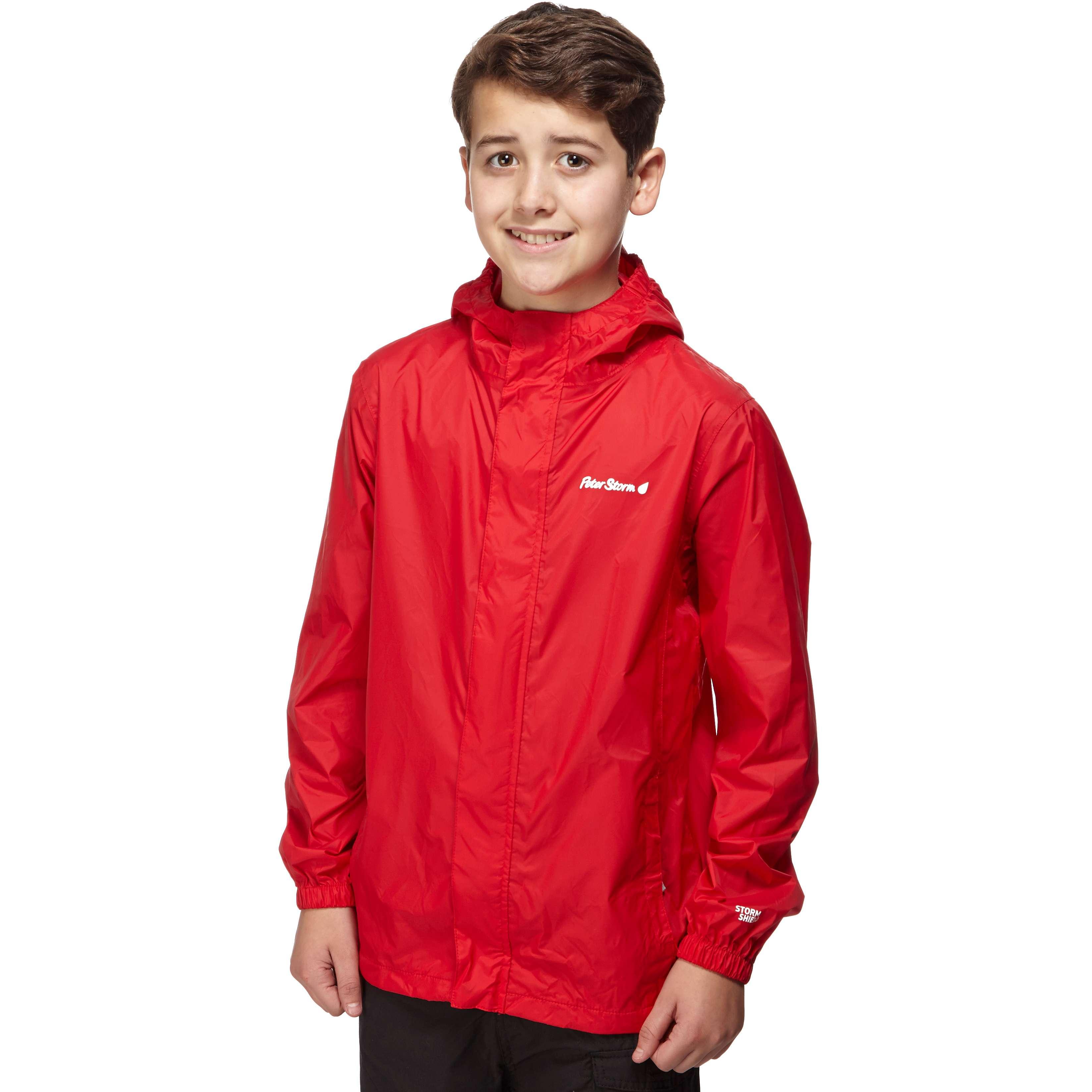 PETER STORM Boys' Packable Waterproof Jacket