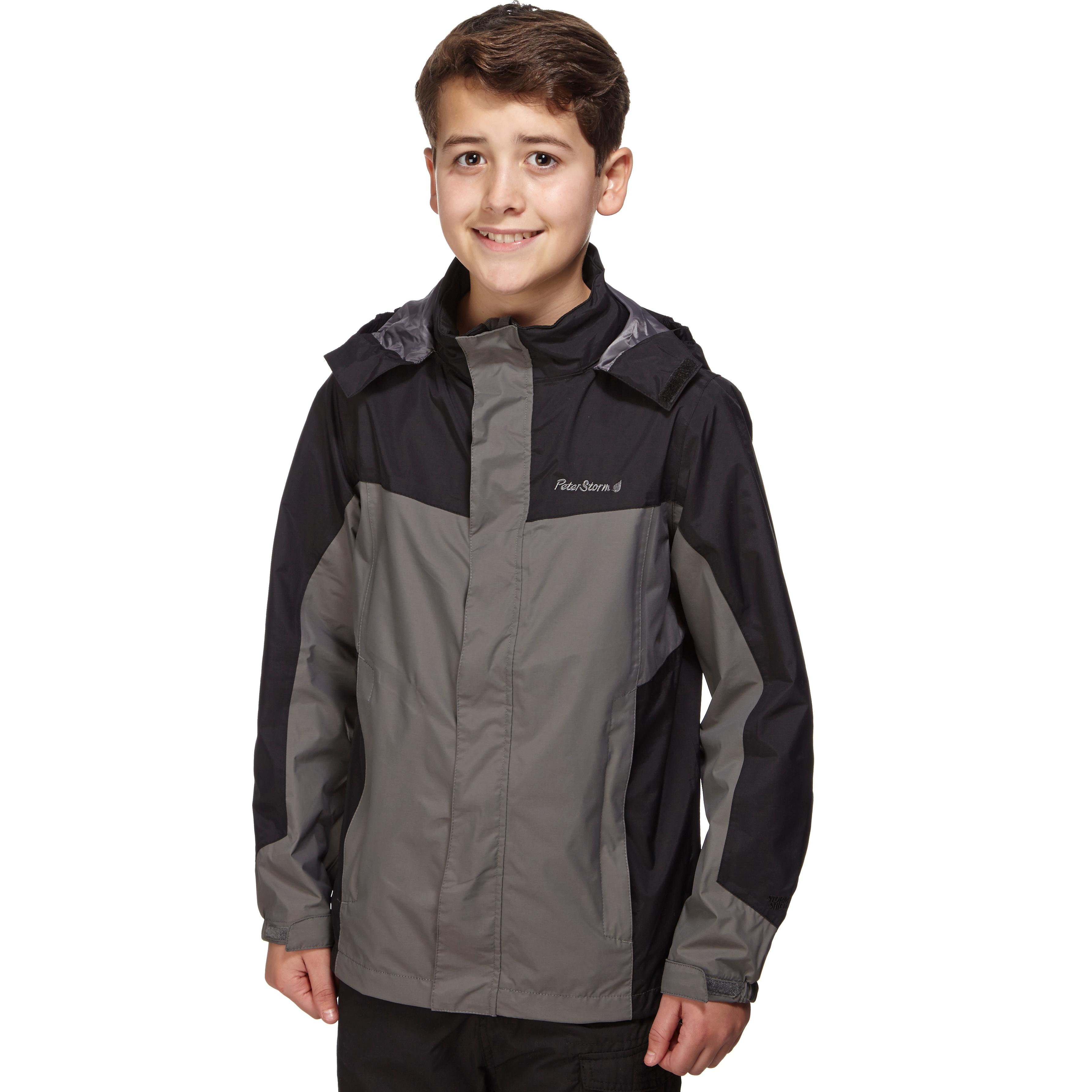 Result Childrens//Kids Reversible Storm Stuff Anti Pilling Fleece Waterproof Jacket