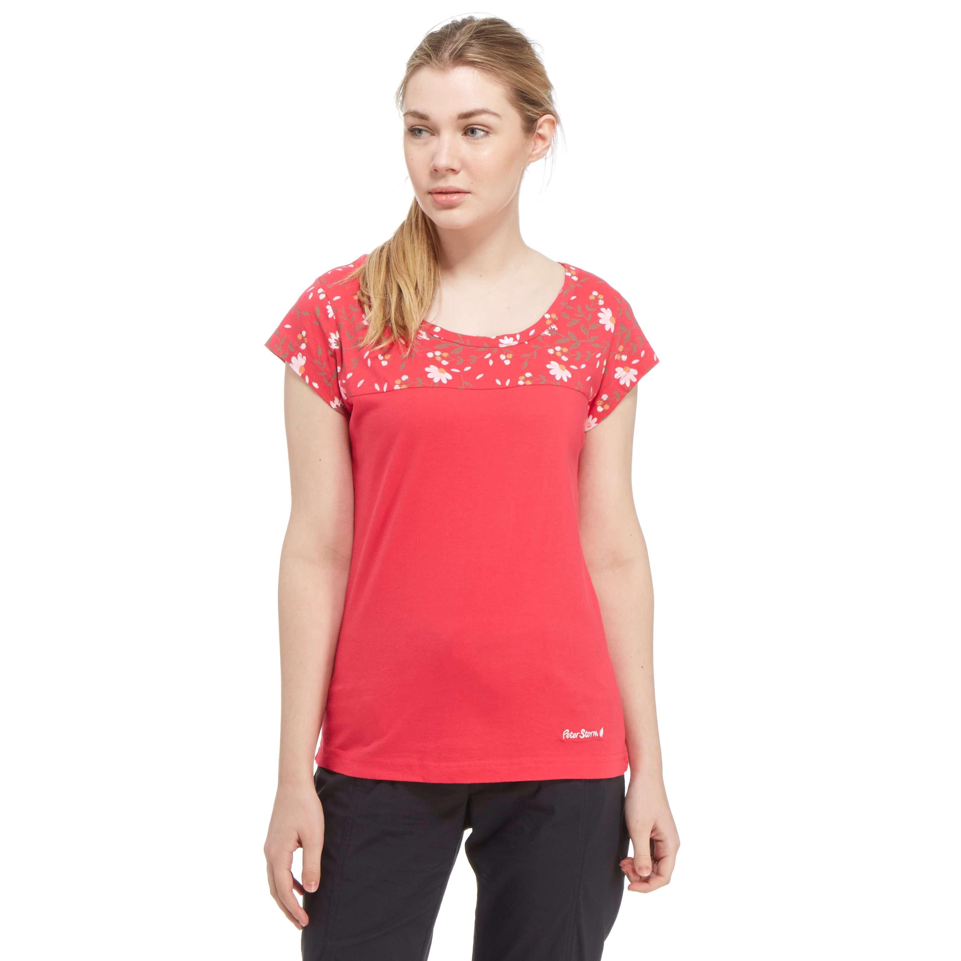 PETER STORM Women's Flowery T-Shirt