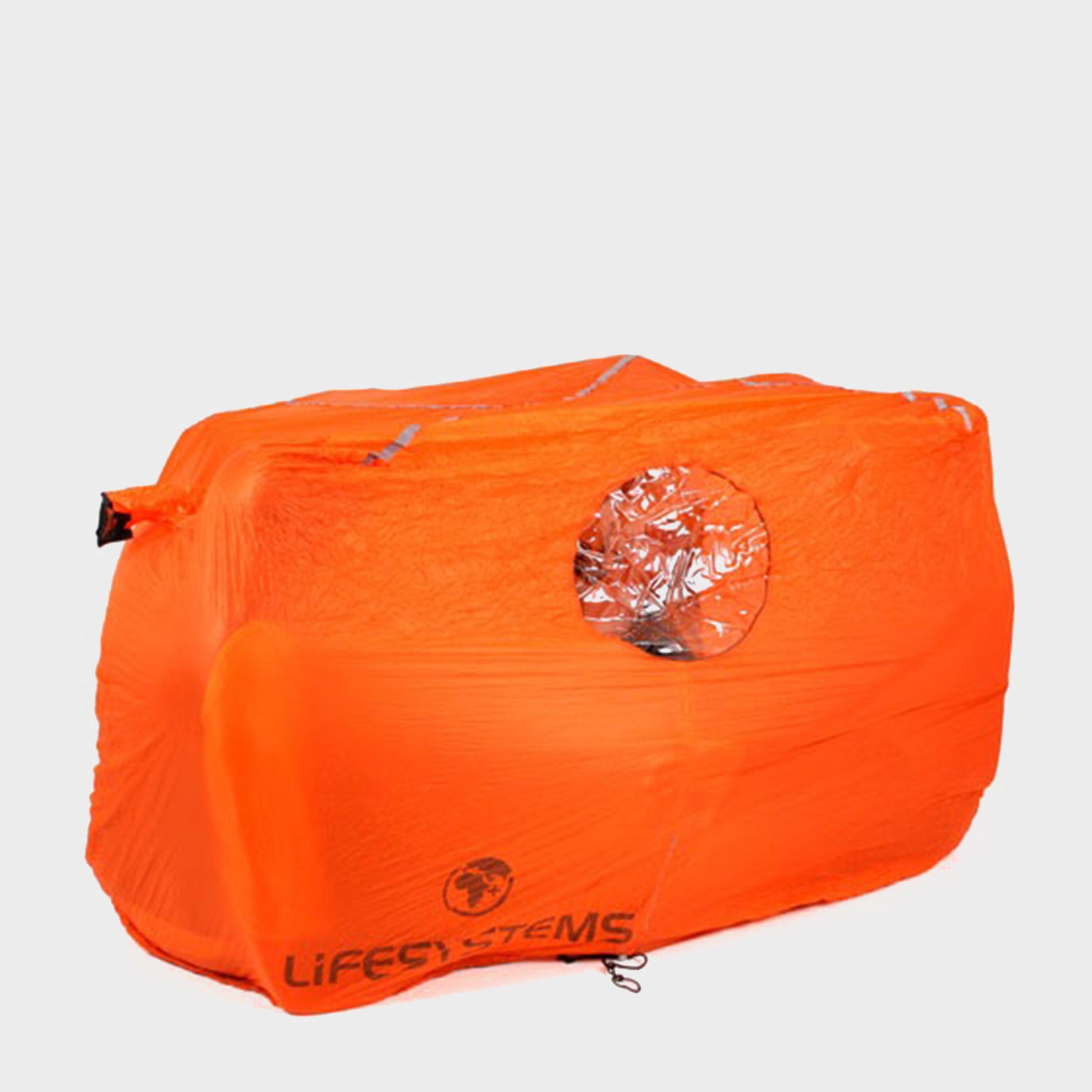 Image of Lifesystems 4 Person Survival Shelter - Orange/Orange, Orange/Orange