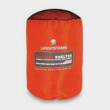 Orange Lifesystems 4 Person Survival Shelter
