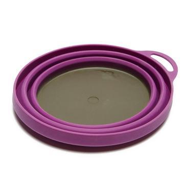 Purple LIFEVENTURE Silicon Ellipse Bowl